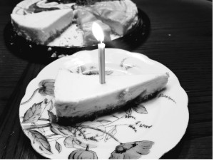 Birthday Cheesecake